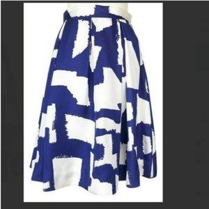 kate spade blue white lilith skirt size 10 see pic
